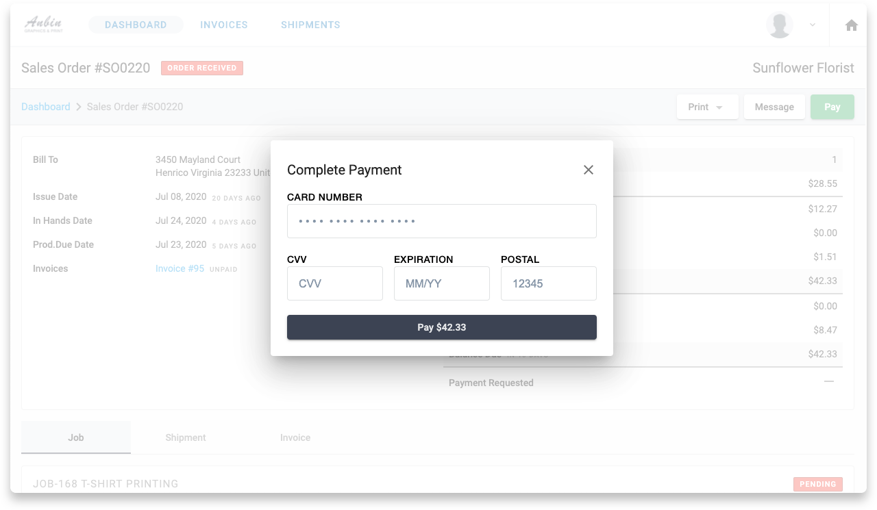 YoPrint Square Online Payment v1.0