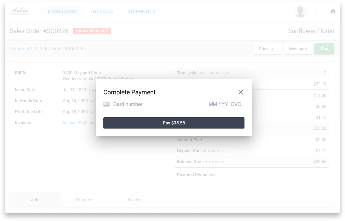 YoPrint Stripe Online Payment v1.0 Copy