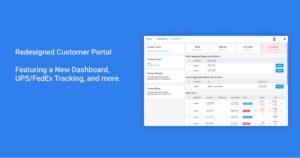Redesigned Customer Portal 1