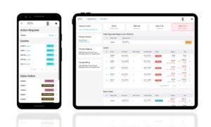 Customer Portal Dashboard Mobile Friendly