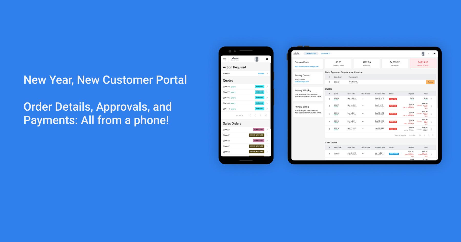 New Year New Customer Portal 2.1