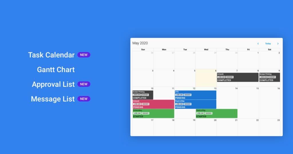 Calendar Release