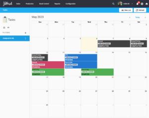 YoPrint Calendar