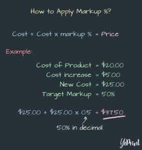 YoPrint Apply Markup v1.3