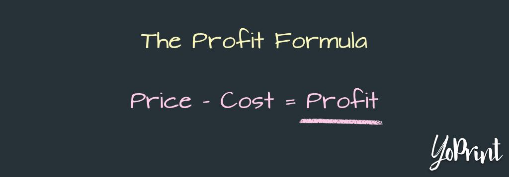 YoPrint Profit Formula