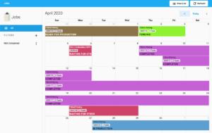 yoprint job calendar