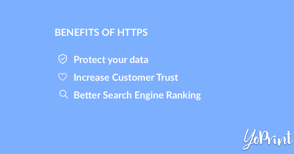 YoPrint Benefits of HTTPS