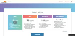 YoPrint Cloudflare Select Plan