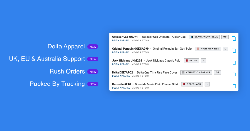 YoPrint Delta Apparel Internationalization More v1.0