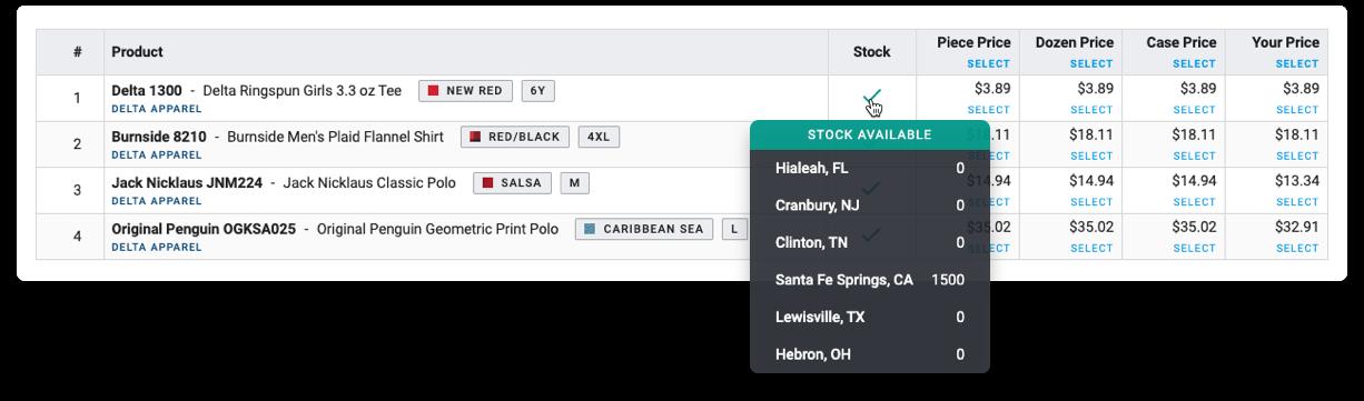 YoPrint Delta Apparel Real Time Stock v1.1