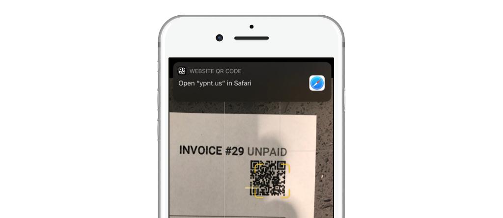 YoPrint QR Code Native App Support v1.0
