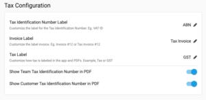 YoPrint Tax Configuration v1.0