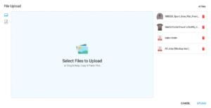 YoPrint New File Uploader