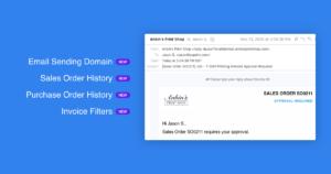 YoPrint Email Sending Domain Change History Notification History v1.1