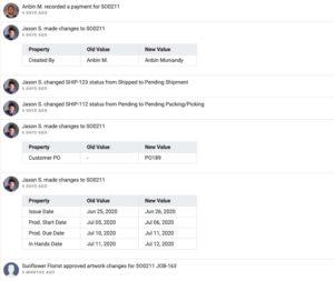 YoPrint Sales Order Change History v1.0