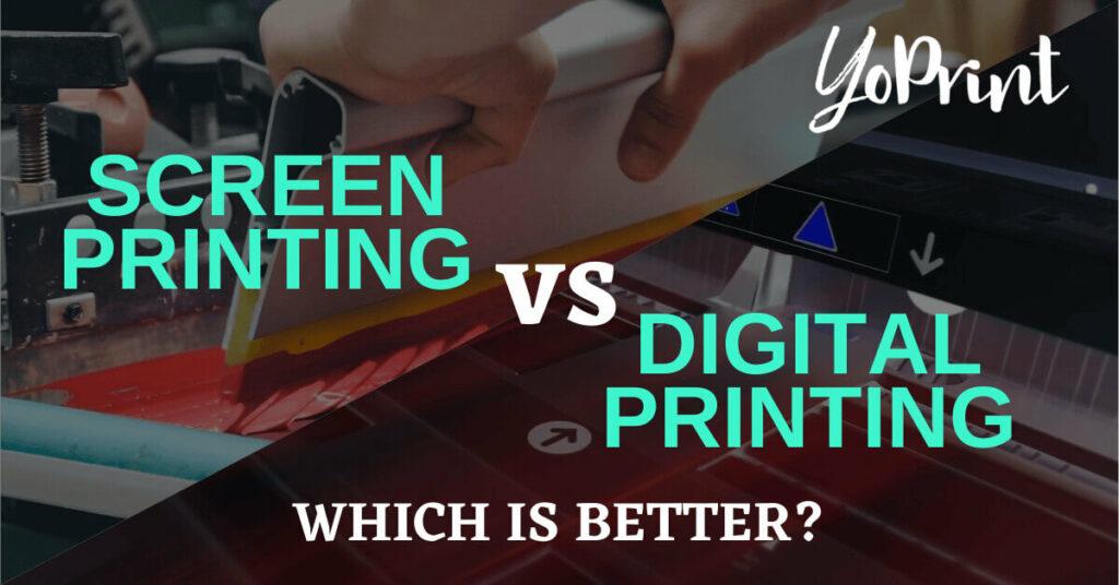 screen printing vs digital printing